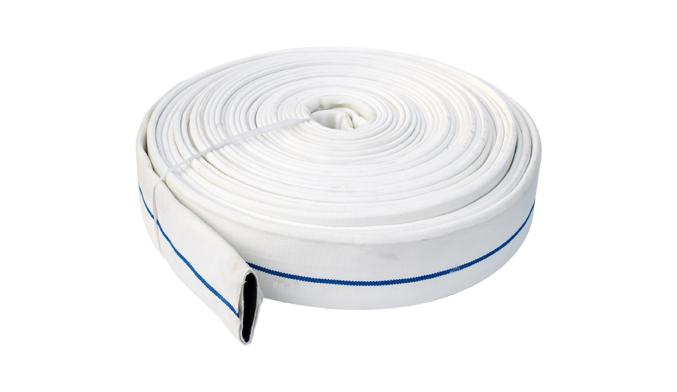 ¿A qué aspectos de la manguera contra incendios se debe prestar atención?